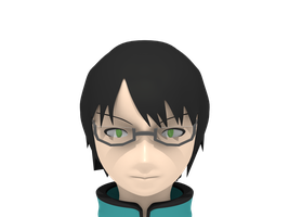 Blender 3D: World Trigger ~ Osamu Mikumo |WIP| #1 by 4lyx9