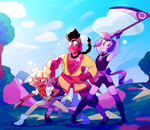Action Gems by WhiteTigerCubMia