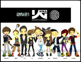 YG Family by pyroKhad