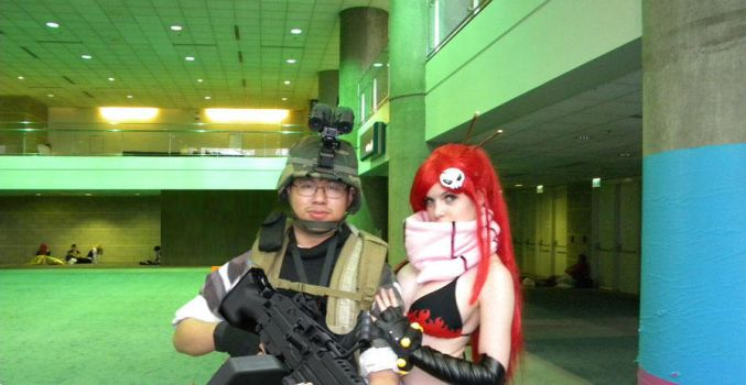 Yoko and Adrian Shephard Best Parnters Ever by Ghost141