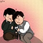 Baby Lennon and McCartney by thaynaitor