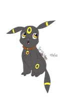 Umbreon by StrawberrieMew