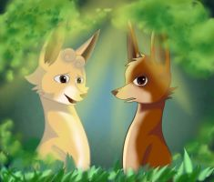 Mom and Dad by Eloylie