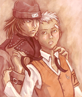 persona 3: akihiko x shinjiro by unstitched
