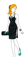 Fashion Design: Midna Inspired Outfit by MaliceInTheAbyss