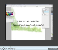 Video Tutorial Landscape by goor
