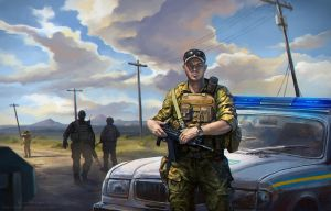 Miltary Police by Noldofinve