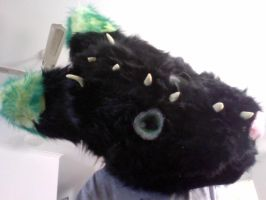 finished fursuit head!!! by Budgie-Wing