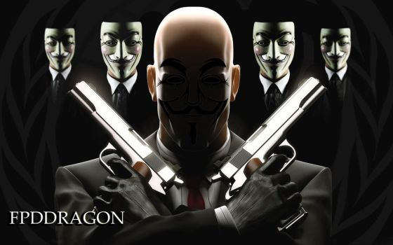 Anonymous Collective by fpddragon