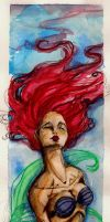 The water color Ariel by IcarusWing87