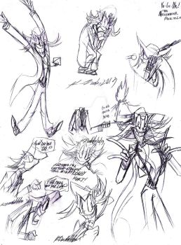 YGO-TMP--Even More Yami Sketches by Kineil-Wicks