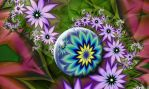 Flowers-Love-Marbles by Margot1942