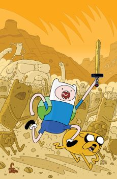 Adventure Time Cover Issue 3 by ReedGunther
