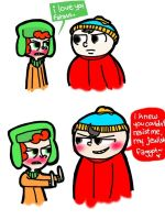 I rather kiss a toilet. by AskKyle--Broflovski