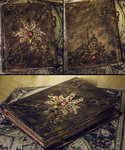 Handmade Antique Book by Crimson-Shad