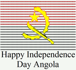 Happy Independence Day Angola by DarkVampirequeen9