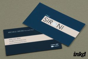 Personal Chef Business Card by inkddesign