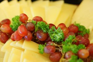 Grapes and Cheese by josephacheng