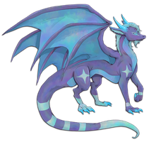 Gift: Shade's Dragon form by SarahRichford