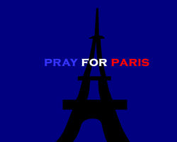Pray for Paris by scifiguy9000