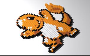 Charmander by 8-bit-Anon