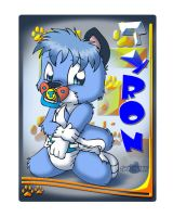 Tyron the Pup Tag by Tavi-Munk