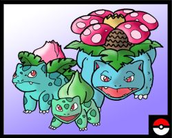 Bulbasaur Family by ZappaZee