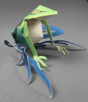 frog niose WEWY paper craft by TylerTinsley
