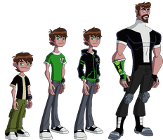 Ben 10 Redesign by derp99999