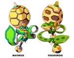 Blight Pollen and Polslice Comparison by ultimatemaverickx