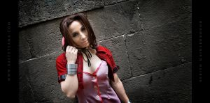 Aerith Cosplay 09 by Bastetsama-Cosplay