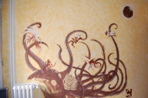 7th Sea WallPainting by ElectroCereal
