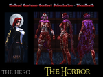 Undead Costume Contest Submission - Bloodbath by not1stepbackwards