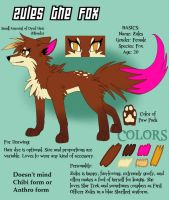 Zules Fox Reference 2013 by zurisu