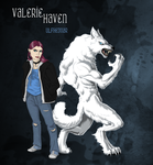 Silver and Bone- Valerie Haven by Javen