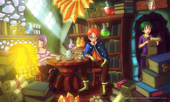 Animation of Humanized Glimmer Sunburst and Spike by alexmakovsky