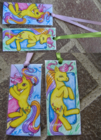 MLP Baby Surfstar Bookmarks by Bumblesweet