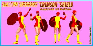 Crimson Shield 002 by thomvinson
