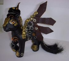 MLP Custom 'Clockwork Steed' by colorscapesart