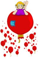 99 Red Balloons by tenpieces