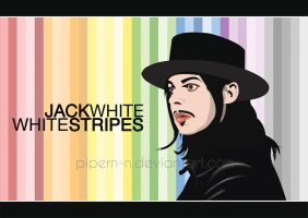 Jack White- White Stripes by PiPeRn-n