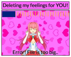 Deleting my feelings for YOU! by thewayur