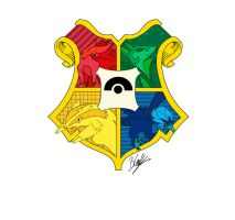 Pokemon Hogwarts Crest by EchoBoe