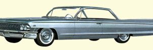 After the age of chrome and fins : 1961 Cadillac by Peterhoff3