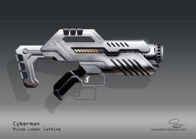 Doctor Who Cyberweapon Concept by SimonPrime