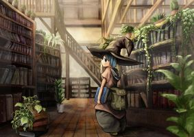 magic library by 58pin