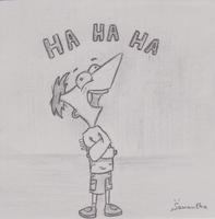 Insane Phineas by InsaneSamantha
