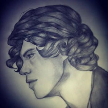 Harry Styles - One Direction by Dukestar1234