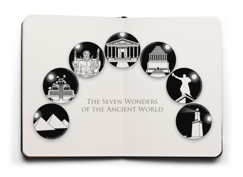 7 Wonders of the Ancient World by slater101