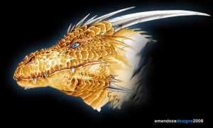 Golden Dragon by TORA-KUN